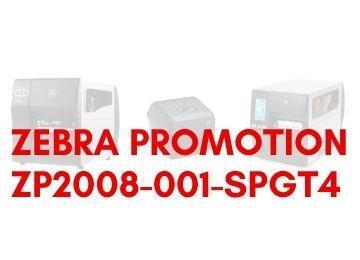 Promo Zebra ZP2008-001-SPGT4